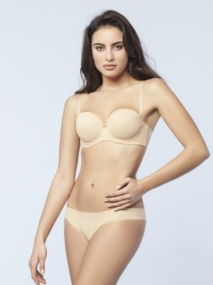 Γυναικείο Σουτιέν Push Up Strapless Gossip Basic Minerva C