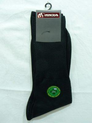 Ανδρική Βαμβακερή Κάλτσα Χωρίς Λάστιχο Minerva