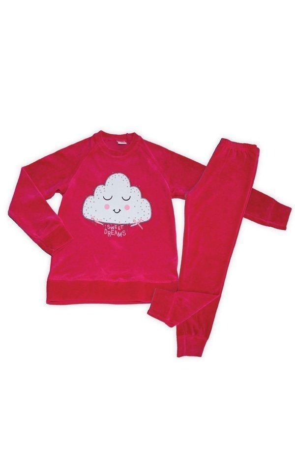 5339a3d3ea8 Παιδική Πυτζάμα Velvet Cloud Minerva Βελούδο - Posto