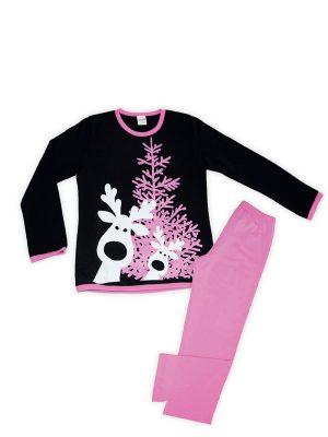 Παιδική Εφηβική Πυτζάμα Christmas Minerva 8-10