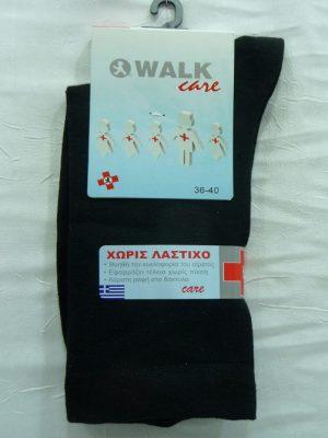 Γυναικεία Ελαστική Κάλτσα Χωρίς Λάστιχο Walk