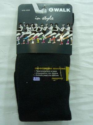 Γυναικεία Ισοθερμική Μάλλινη Κάλτσα Μέχρι Το Γόνατο Walk