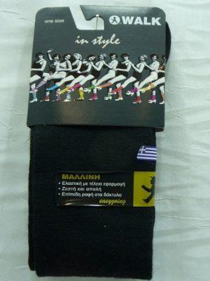 Γυναίκεια Μάλλινη Κάλτσα Μέχρι Το Γόνατο Walk