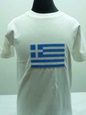 Παιδικό Μπλουζάκι Ελληνική Σημαία Pretties