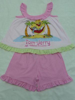 Παιδική Πυτζάμα Tom And Jerry Pretty Baby Ροζ