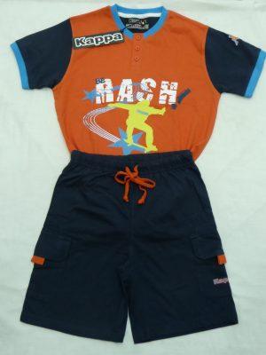 Παιδική Πυτζάμα Rash Πορτοκαλί Kappa
