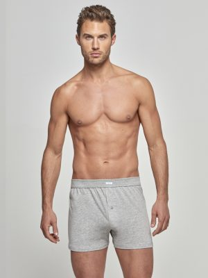 Ανδρικό Boxer Pure Cotton Impetus Γκρι