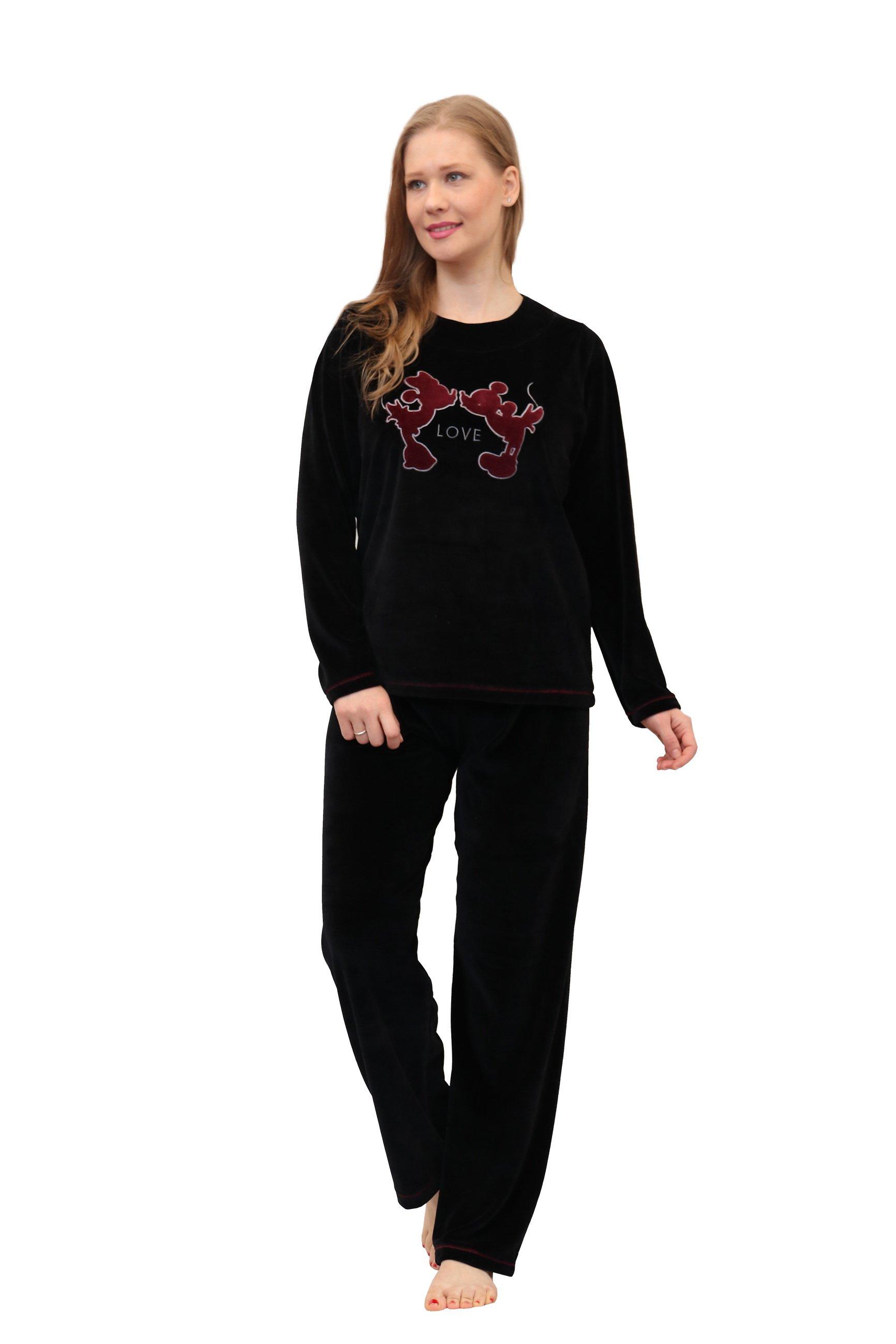 Βελουτέ Γυναικεία Πυτζάμα Velvet Mickey Galaxy - Posto f03a5559b7d