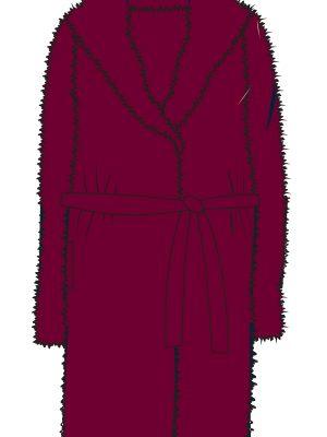 Γυναικεία Ρόμπα Minerva Long Fleece