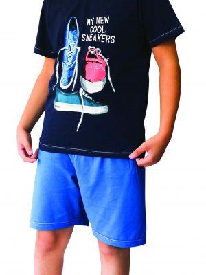 Παιδική Εφηβική Πυτζάμα My-New-Cool Sneakers Galaxy