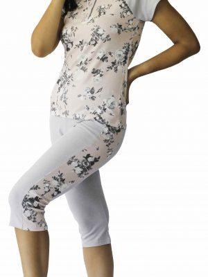 Γυναικεία Πυτζάμα Κάπρι Galaxy 615