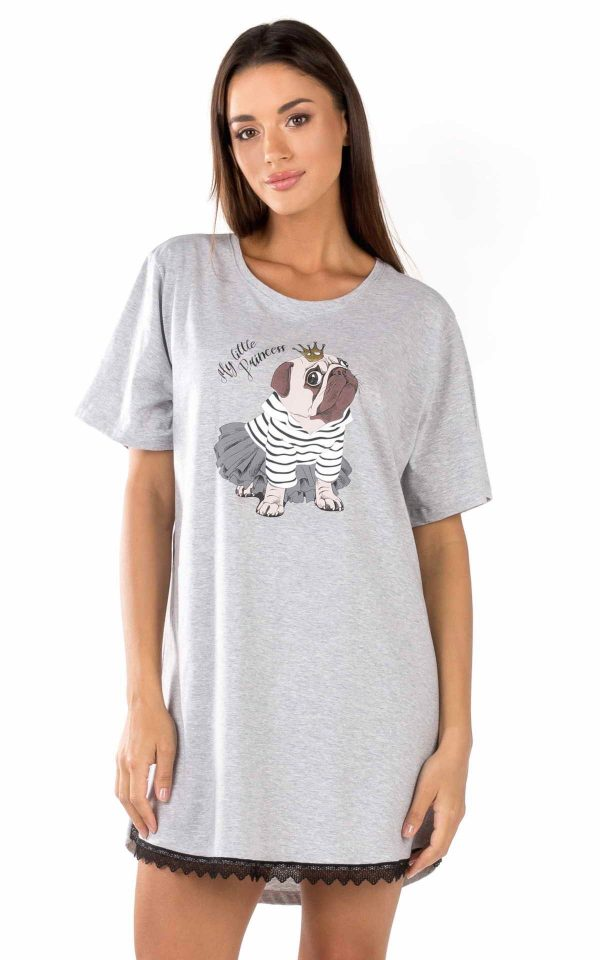 Γυναικείο Μπλουζοφόρεμα Funny Prints Minerva 51815