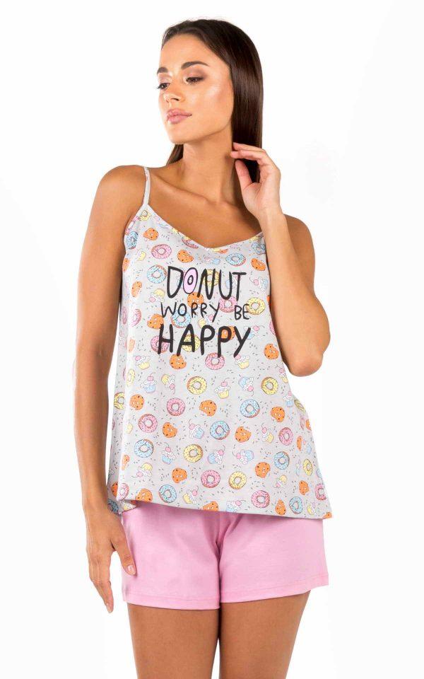 Γυναικεία Πυτζάμα Donuts Minerva 51825