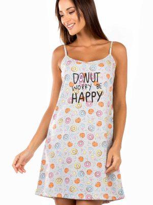 Γυναικεία Νυχτικιά Donuts Minerva 51826
