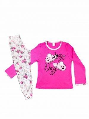 Παιδική-Εφηβική Πυτζάμα Lazy Day Minerva 12-14-16
