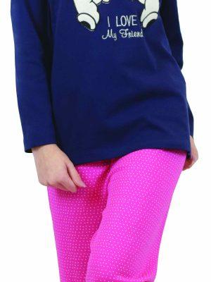 Παιδική-Εφηβική Πυτζάμα Μπλε Galaxy 123-20