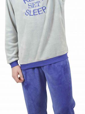 Παιδική Εφηβική Πυτζάμα Fleece Ready Galaxy