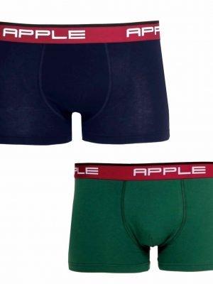 Ανδρικό Boxer 2 Τεμάχια Apple Μπλε-Πράσινο