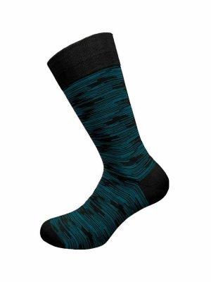 Ανδρική Κάλτσα Bamboo Walk Μαύρο-17