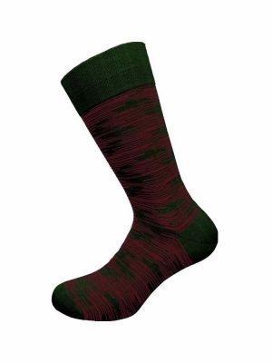 Ανδρική Κάλτσα Bamboo Walk Πράσινο-Σκούρο