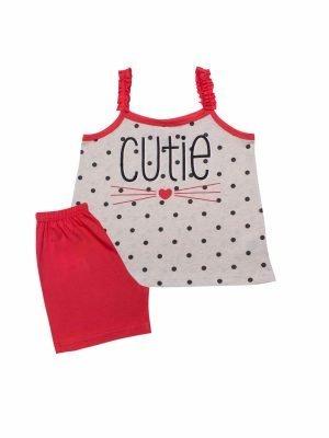 Παιδική πυτζάμα Pink-Cutie Minerva 12-14-16