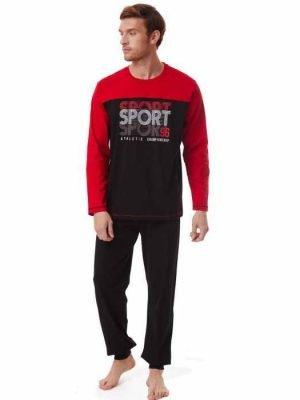 Ανδρική Πυτζάμα Sport-Athletic Minerva Κόκκινο 70943