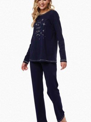 Γυναικεία Πυτζάμα Stars-&-Rose Minerva Μαρίν 52053